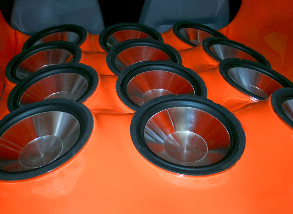 case multiple vehicle subwoofers