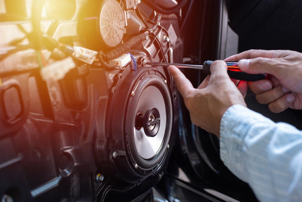 car speaker cleaning equipment