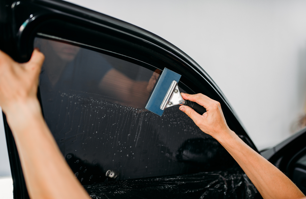 rideshare vehicle tint lighting
