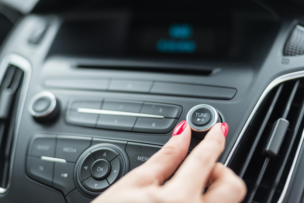 tuning car stereo fade tone